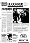 El Correo [Recurso electrónico] : El Correo Español-El Pueblo Vasco. Álava.